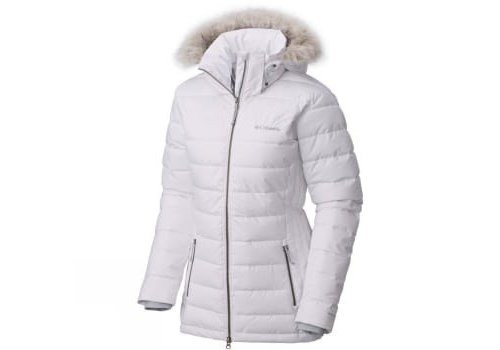 COLUMBIA PONDERAY Wms Jacket White