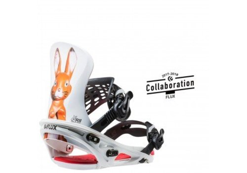 FLUX BINDINGS Flux R2 Snowboard Binding Mad Bunny