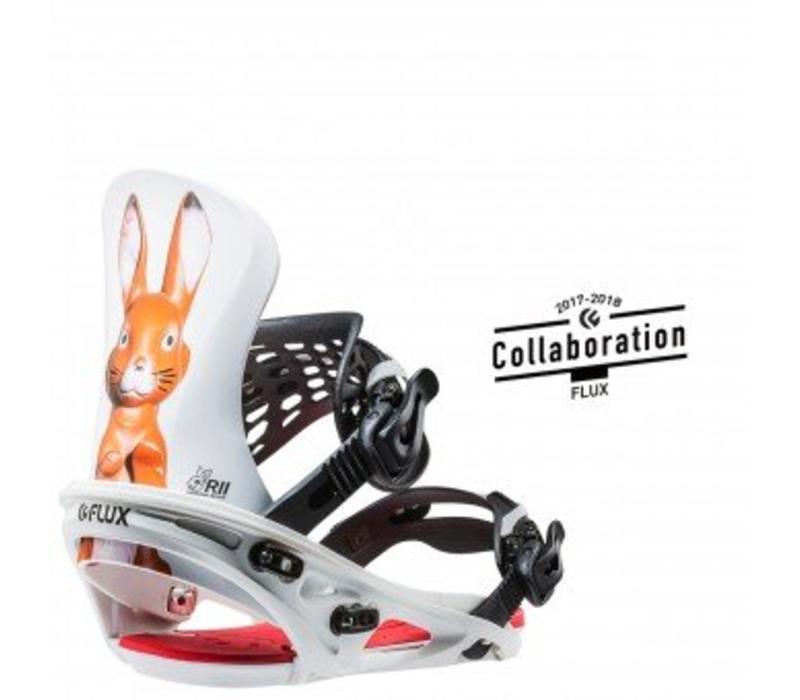 Flux R2 Snowboard Binding Mad Bunny