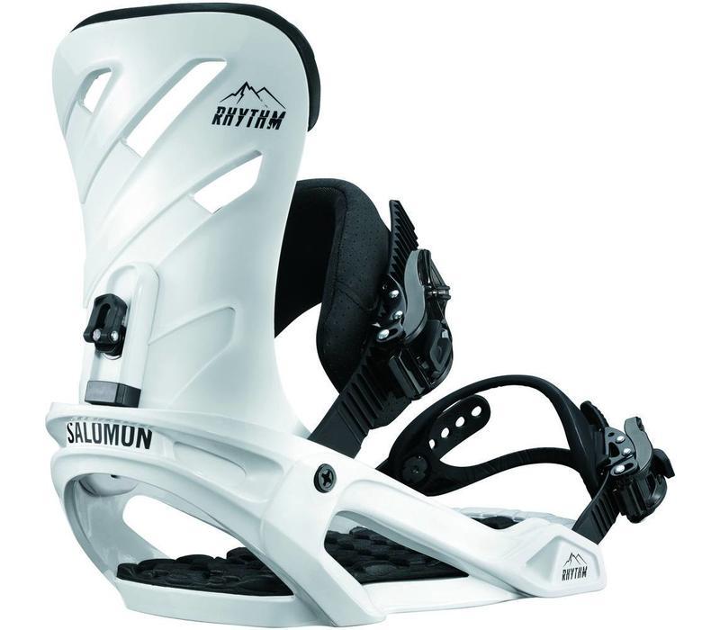 Salomon Rhythm White Snowboard Binding