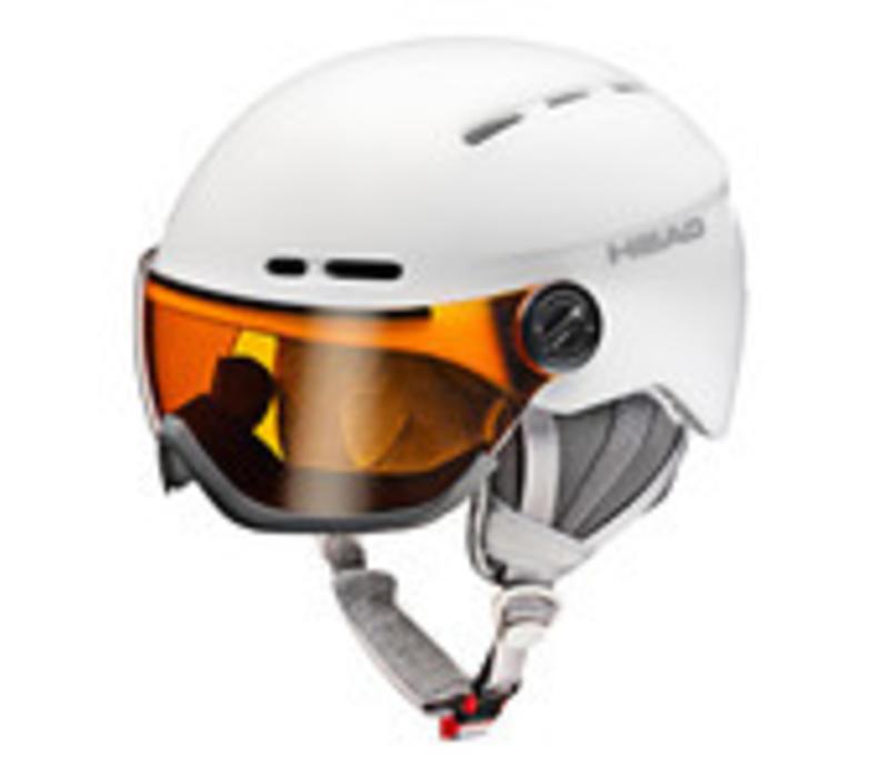Head Queen Helmet White