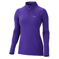 WMNS M/WEIGHT 1/2 ZIP TOP