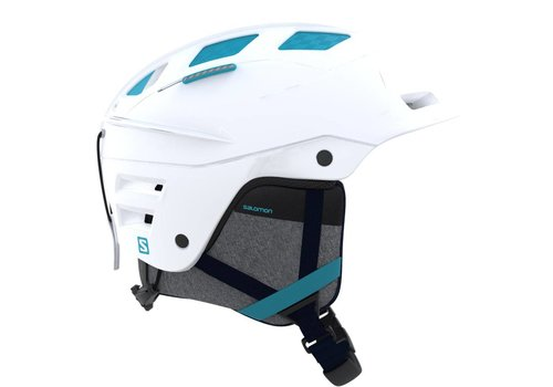 SALOMON QST CHARGE  W HELMET White