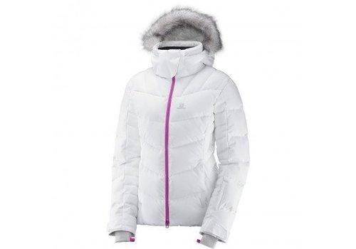 SALOMON Salomon Icetown Womens Jacket White Heather