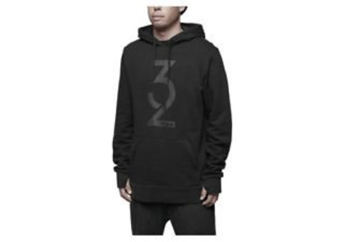 THIRTYTWO SNOWBOARDING Thirtytwo Marquee Hooded Pullover Black
