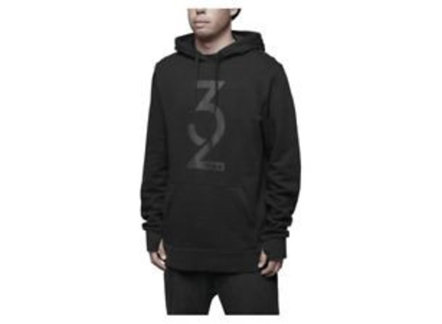 Thirtytwo Marquee Hooded Pullover Black