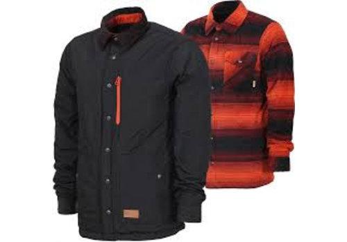 THIRTYTWO SNOWBOARDING Thirtytwo Drifter Fleece Jacket Oxblood