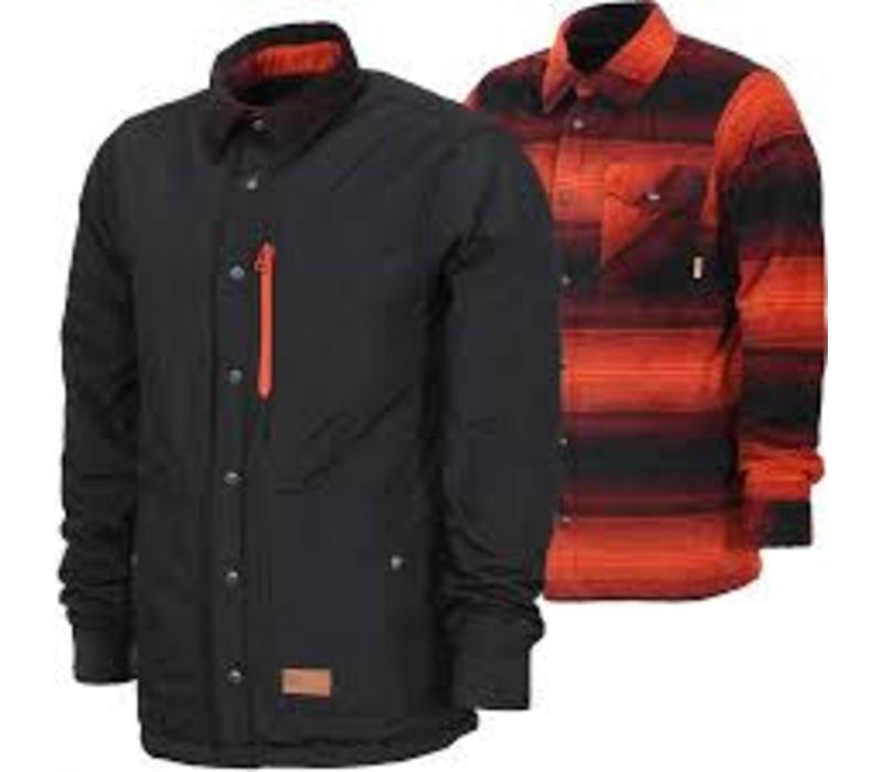 Thirtytwo Drifter Fleece Jacket Oxblood