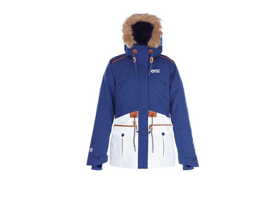 Picture Apply Jacket Dark Blue  White