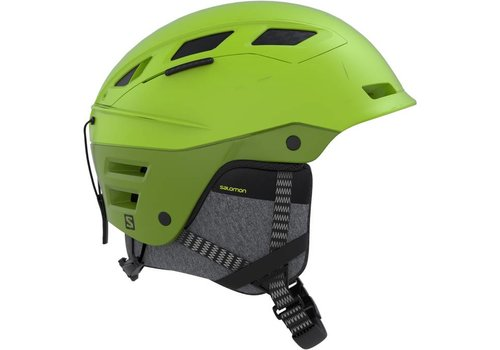 SALOMON QUEST CHARGE  HELMET Lime