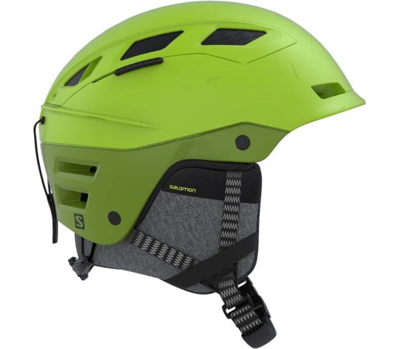 Salomon Quest Charge  Helmet Lime