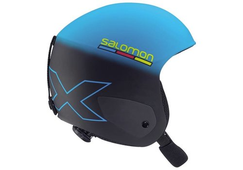 SALOMON X RACE JR HELMET Black Blue