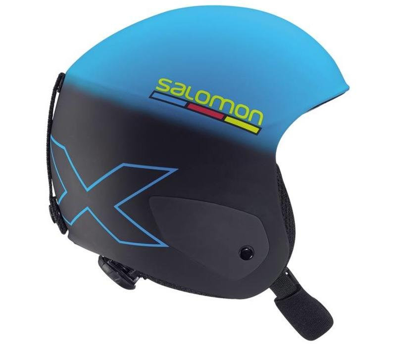 X RACE JR HELMET Black Blue