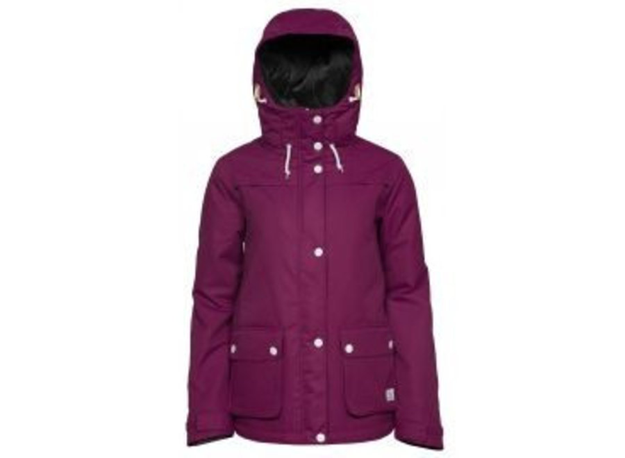 Wear Colour Ida Jacket Plum
