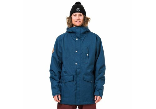 HORSEFEATHERS Horsefeathers Hubbard Jacket Heather Navy