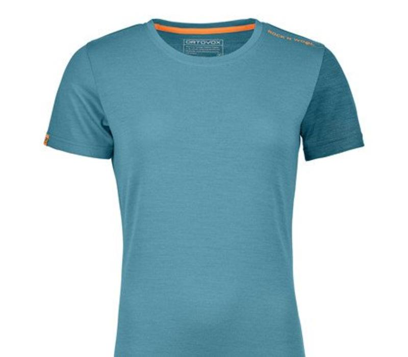 Ortovox Rock N Wool Wmns Short Sleeve Aqua
