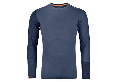 ORTOVOX Ortovox Rock N Wool Mens Long Sleeve Night Blue