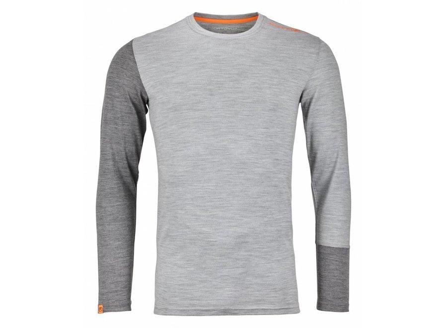 Ortovox Rock N Wool Mens Long Sleeve Grey