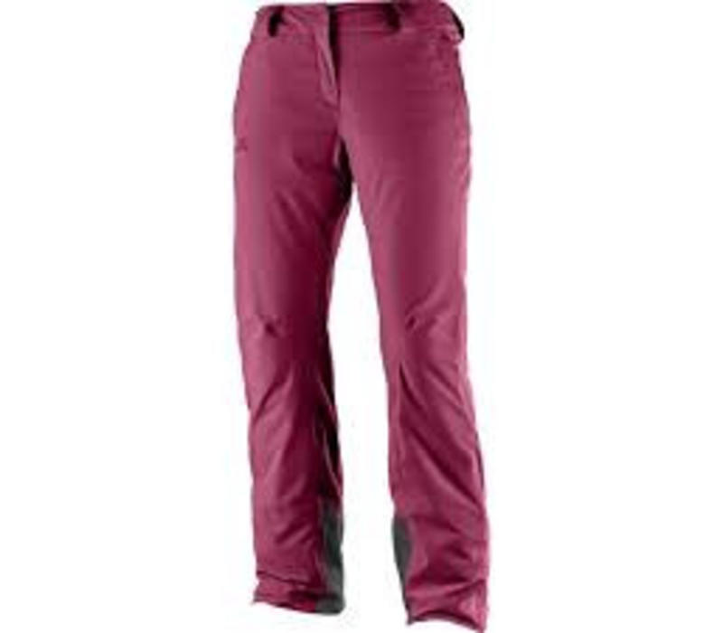 ICEMANIA WOMENS PANT Beet Red