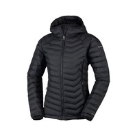 Columbia Powder Lite Wms Hood Jkt Black