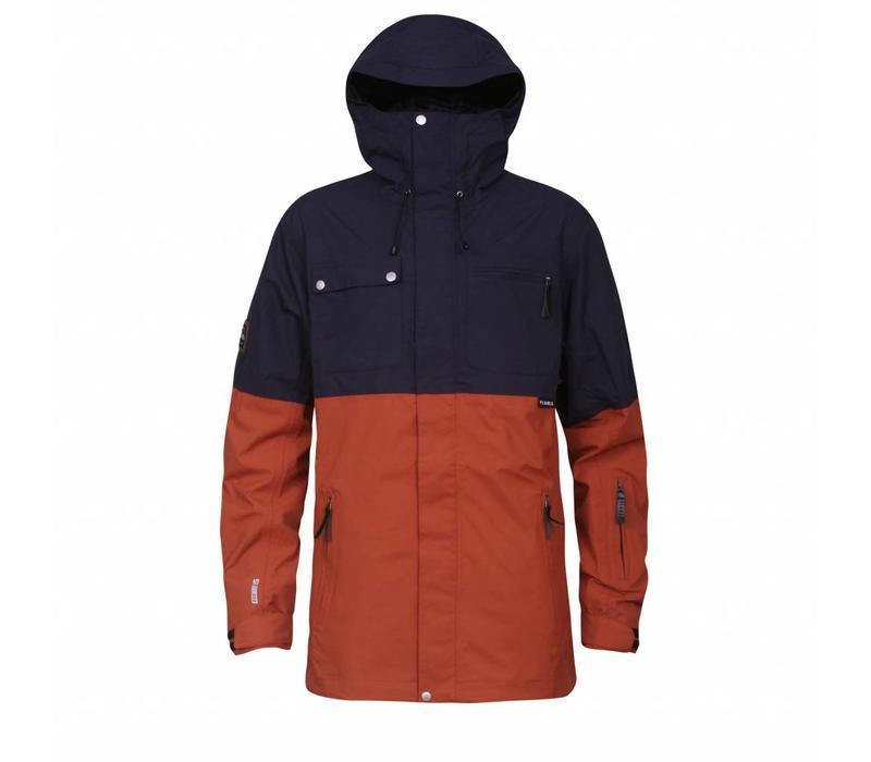 Planks Feel Good Jacket Burnt Orange