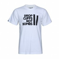 DROP CLIFFS TEE White