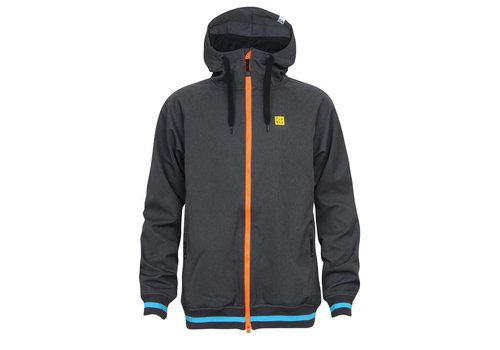 PLANKS Planks Reunion Soft Shell Jacket Charcoal