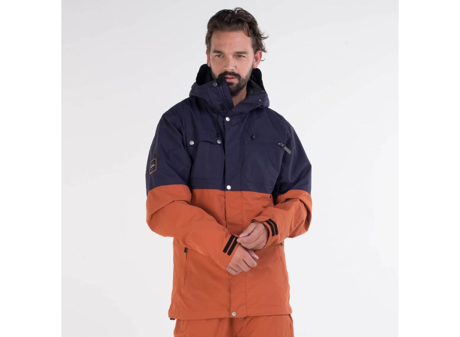 Planks Feel Good Jacket Burnt Orange XL