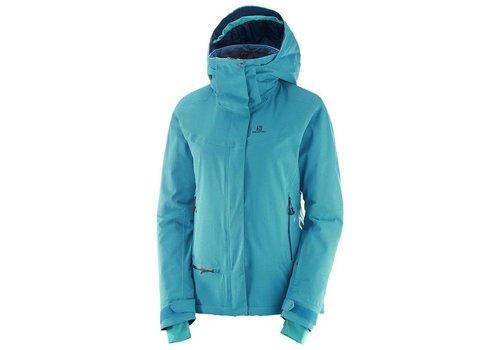 SALOMON Salomon Qst Snow Wmns Jacket  Enamel Blue