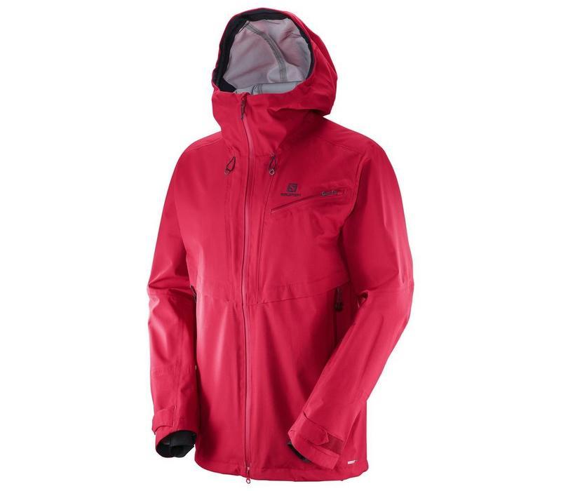 Salomon Qst Guard 3L Jacket  Barbados Cherry