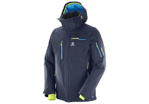 SALOMON BRILLIANT MENS JACKET Night Sky