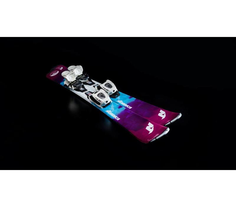 Nordica Little Belle Ski + Jr7 Binding