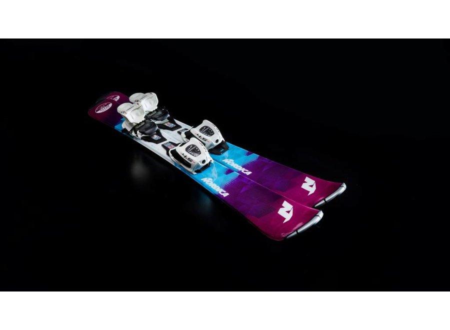 Nordica Little Belle Ski + Jr7 Binding