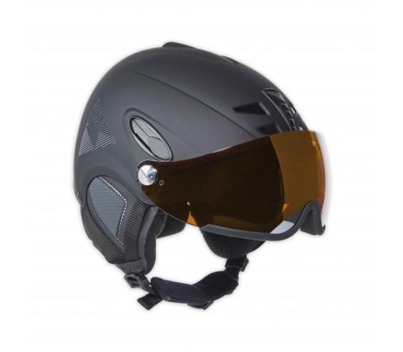 Fischer Visor Helmet - Black