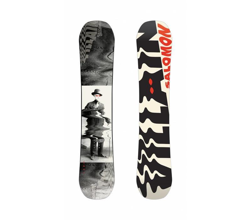 Salomon Villain Grom Snowboard Set Inc Pact Binding