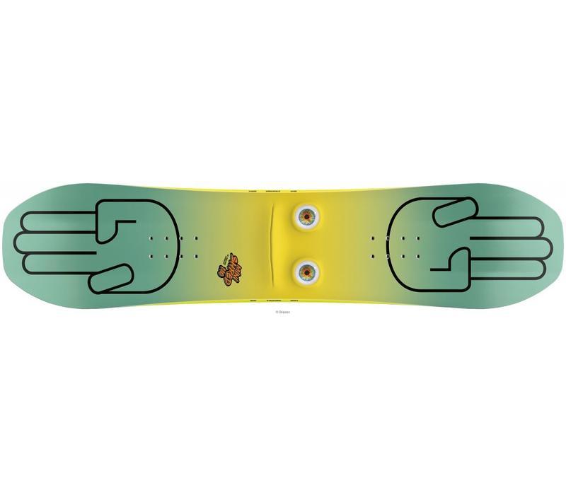 Bataleon Minishred Snowboard Set Inc Binding