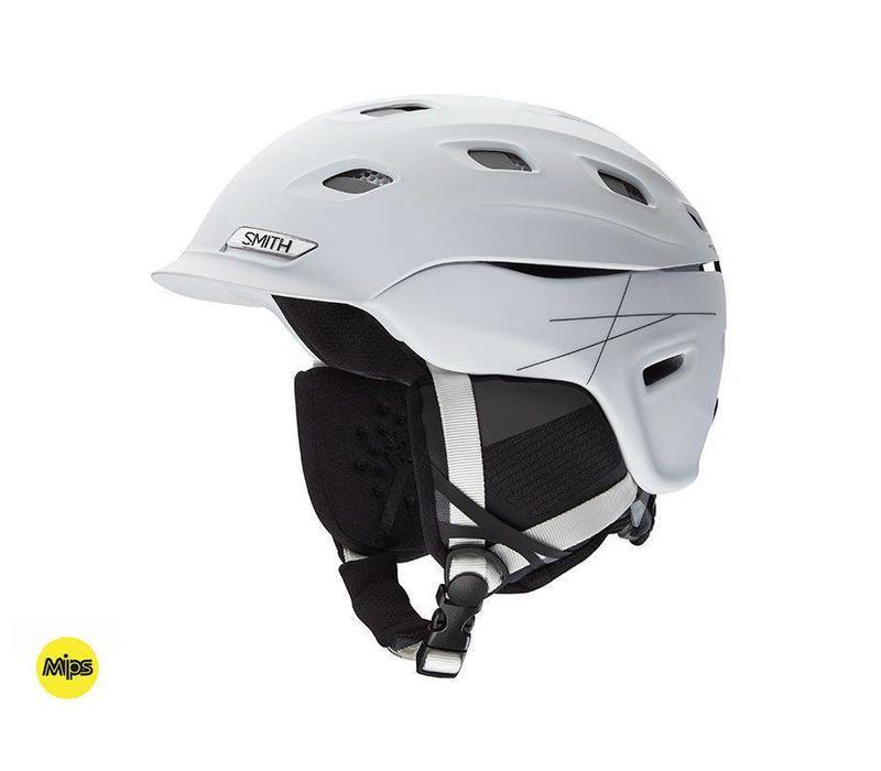 Vantage Mips Helmet Matte White
