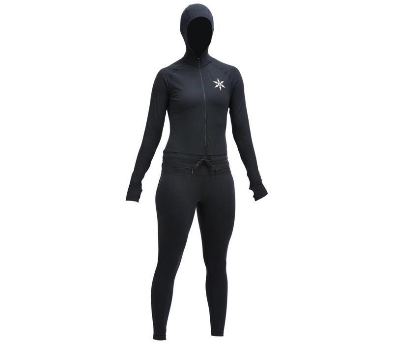 Airblaster Classic Womens Ninja Suit Black