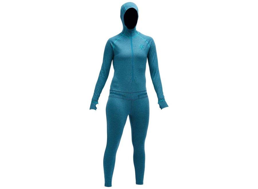 Airblaster Merino Womens Ninja Suit Ocean