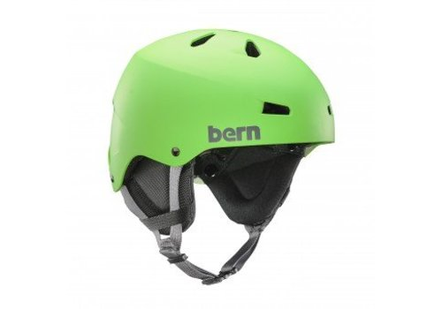 BERN Bern Team Macon Helmet Neon Green
