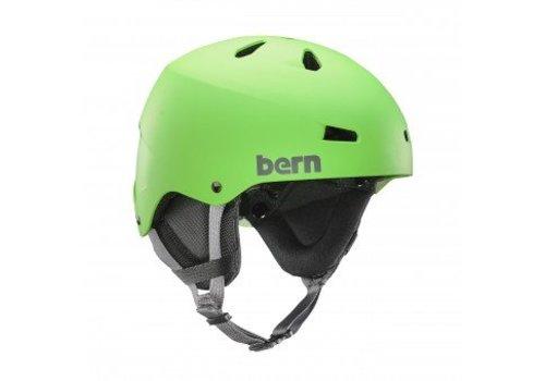 BERN TEAM MACON HELMET Neon Green