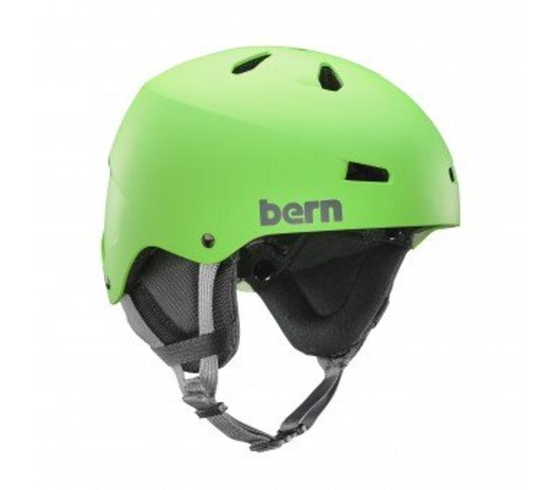 TEAM MACON HELMET Neon Green