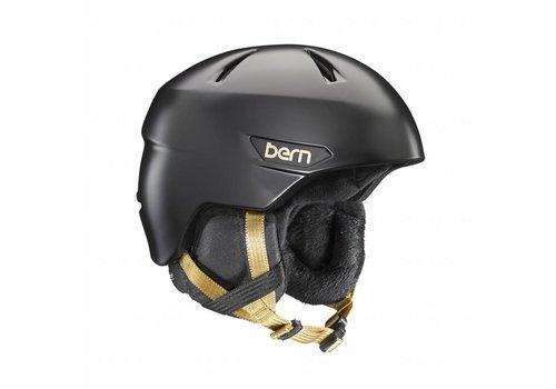 BERN Bern Bristow Helmet  Satin Black