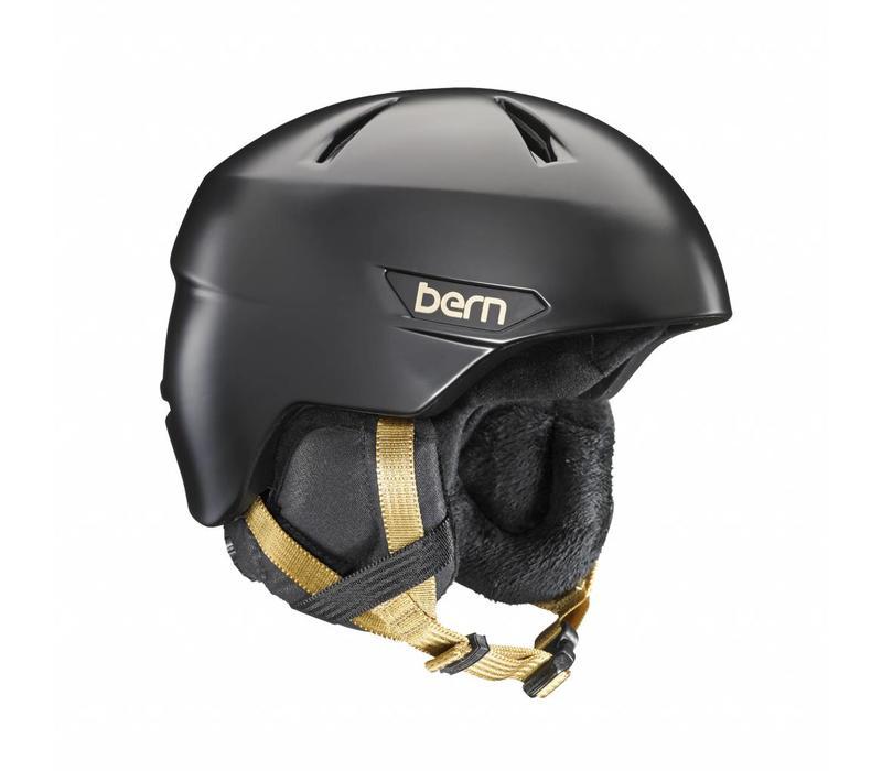 Bern Bristow Helmet  Satin Black