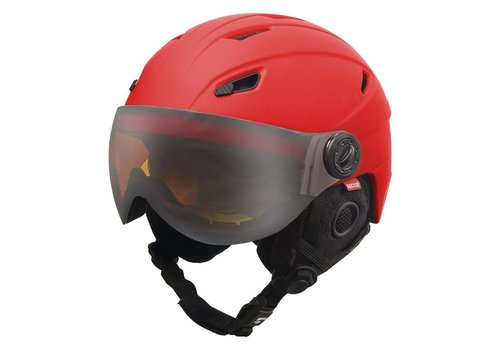PARK VISOR KID HELMET RED