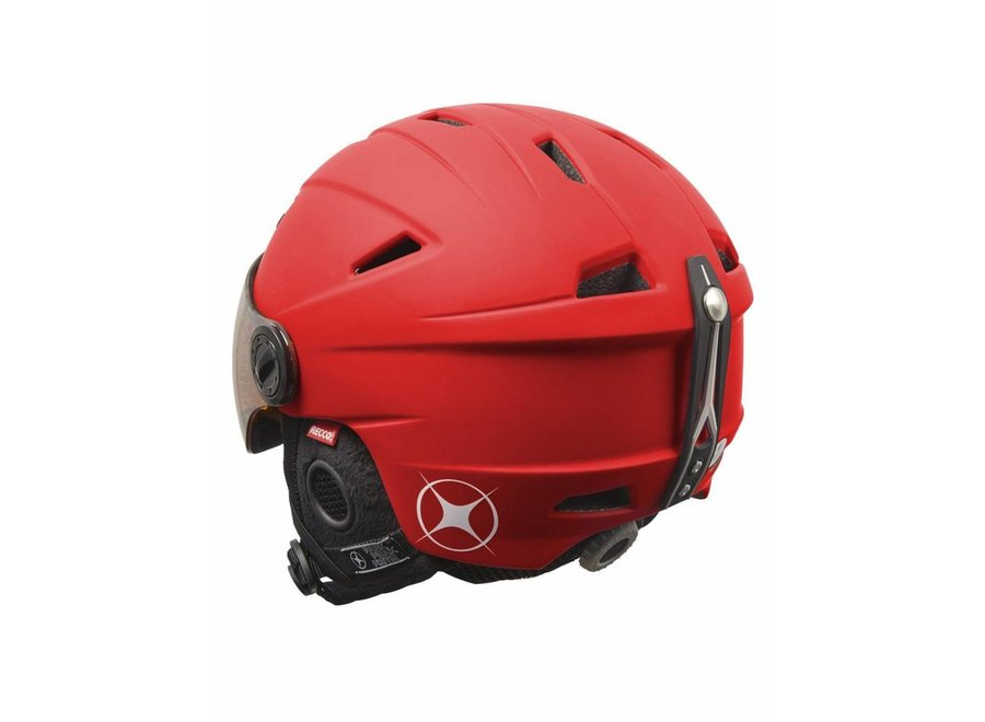 Mambi Park Visor Kid Helmet Red