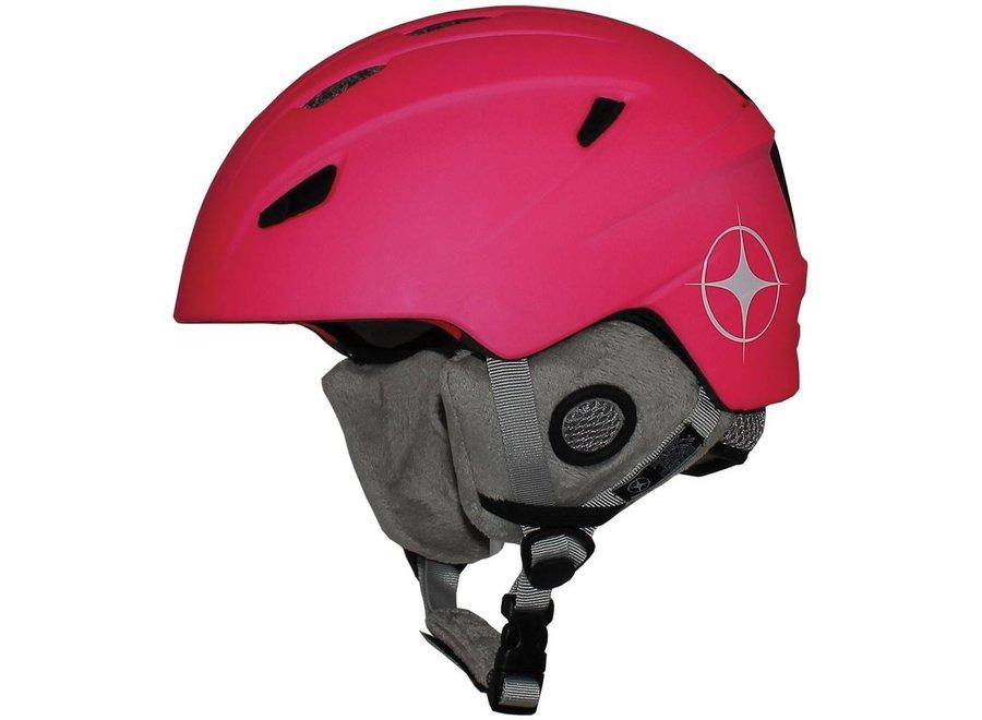 Mambi Park Kids Helmet Neon Pink