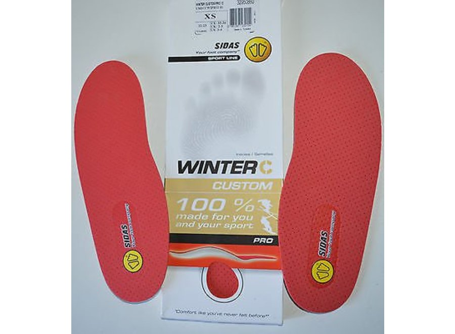 Sidas Winter Custom Footbed