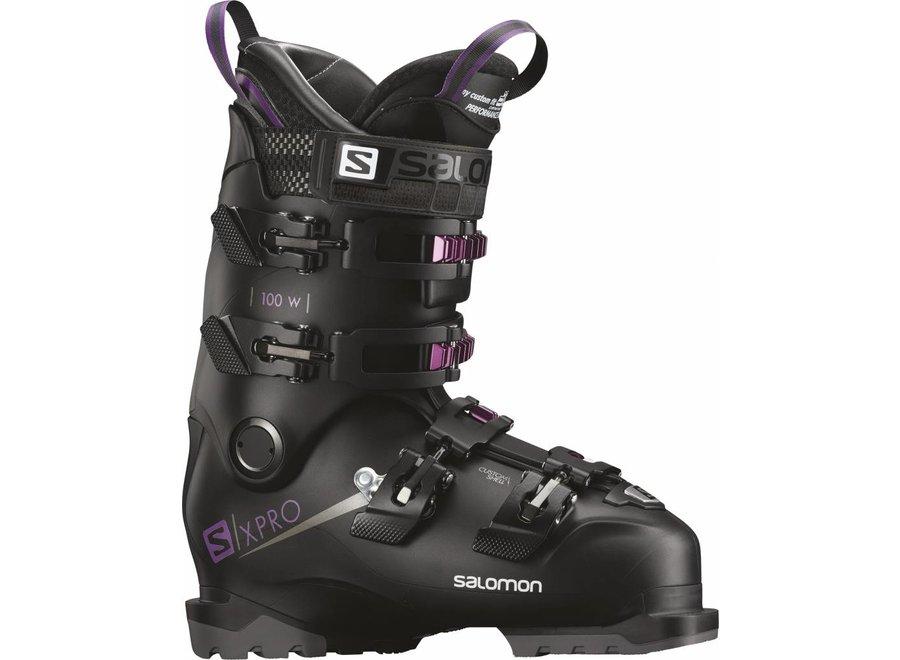 Salomon X Pro 100 W Black/Purple