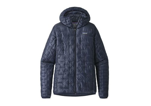 PATAGONIA W'S MICRO PUFF HOODY NAVY
